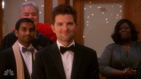 ben wyatt wedding