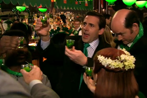 the office st patrick's day