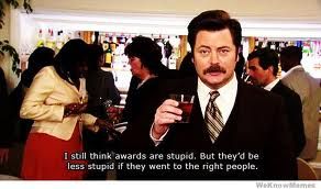 RON SWANSON awards