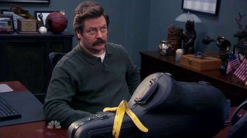 parks and rec banana