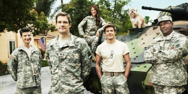 enlisted cast