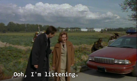 x files our town sick theory