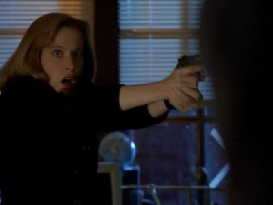 x files paper clip scully