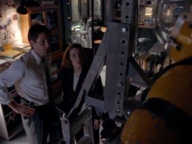 Still glad I'm not dead, Scully?