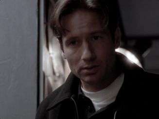 x files mulder never again