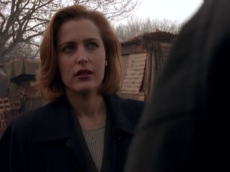 x files scully chupacabra