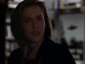 x files tunguska scully worried