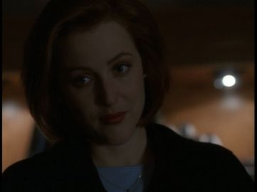x files the end scully dirty mind