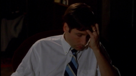 WAIT BUT WHO WAS MULDER MARRIED TO AND HOW DID SHE HURT HIM