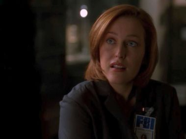 Do you even watch this show Scully