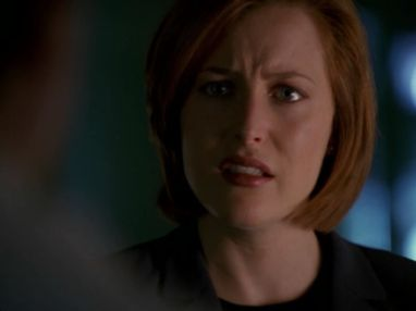 xfiles field trip scully crying