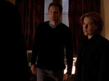xfiles two fathers scully mulder apartment