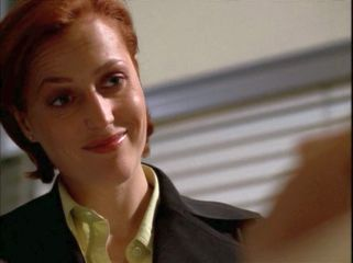 xfiles brand x scully smile