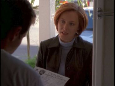 xfiles closure scully door