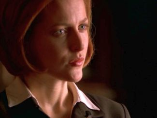 Everything CSM has taken from Scully and Mulder is in her face.