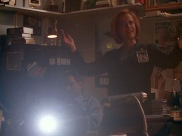 xfiles fight club scully yes