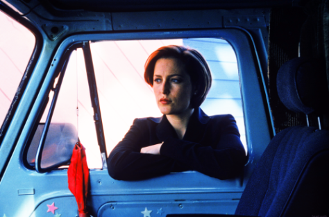 xfiles maleeni scully car door