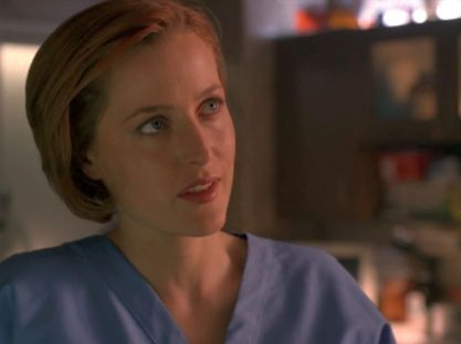 xfiles maleeni scully morgue