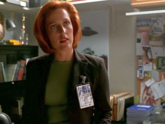 xfiles patience scully desk