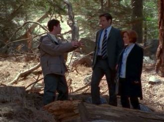 xfiles requiem scully mulder woods
