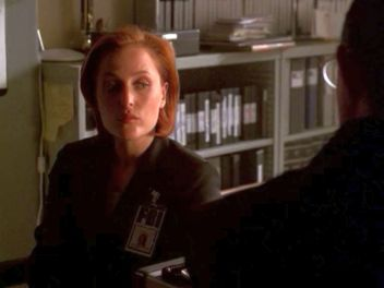 xfiles requiem scully open doors