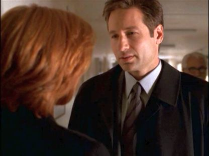 xfiles rush mulder gaze hospital