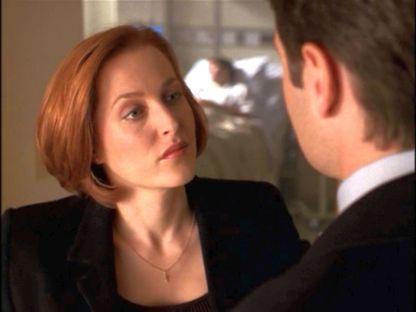 xfiles rush scully gaze hospital