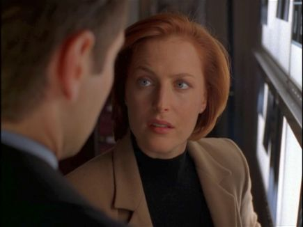 xfiles rush scully xray gaze