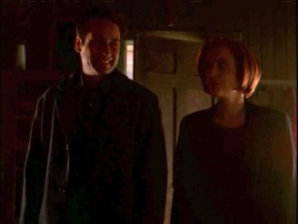 He's so proud, she's so proud, THEY'RE SO PROUD OF HER. JOKE!SCULLY IS ONE OF THE BEST THINGS ABOUT SEASON SEVEN SO FAR.