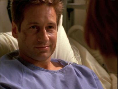 xfiles signs and wonders mulder alive smile