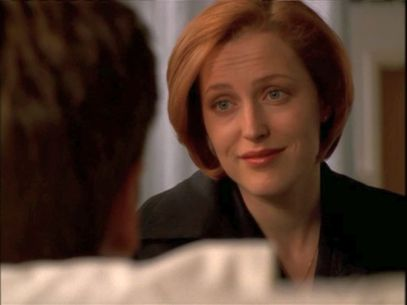 xfiles signs and wonders scully mulder alive smile