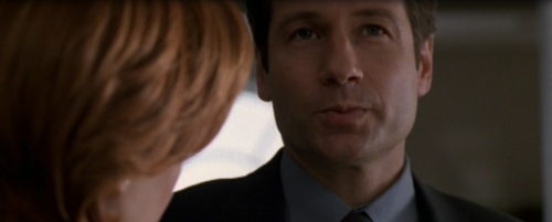 His impression of Scully is adorably disapproving.