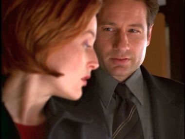 xfiles theef scully mulder surprise