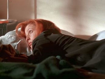 xfiles within scully mulder's bed
