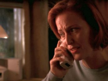 xfiles within scully phone
