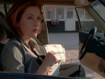 xfiles within scully road trip