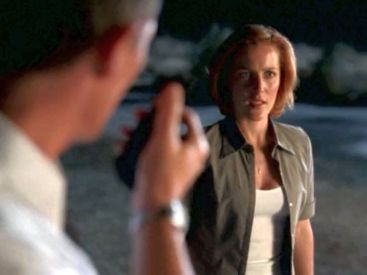 xfiles without scully double