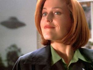 xfiles alone scully startled