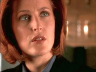 It's a good thing Scully's never been afraid of a challenge.