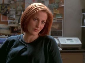 xfiles deadalive scully get out while you can
