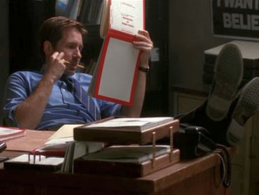 xfiles empedocles mulder desk