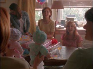 xfiles essence scully baby shower