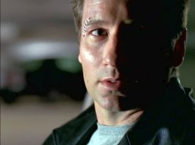 He knows it isn't worth it anymore, but he doesn't have a choice. Mulder and Scully never stop fighting. That's what they do.