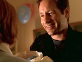 xfiles existence mulder smile