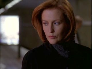 xfiles medusa scully not going in