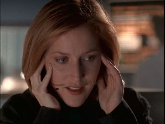 xfiles medusa scully relieved