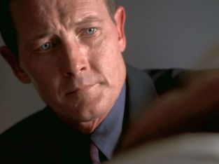 """""""At least you're okay."""" He repeats it. Like he's making sure. Awww, Doggett!"""
