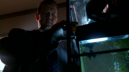 xfiles the gift doggett fish