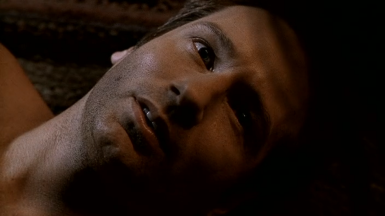 xfiles the gift mulder eyes