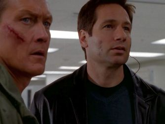 xfiles three words doggett mulder